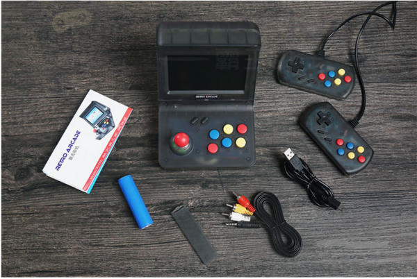 single mini game machine – package contents